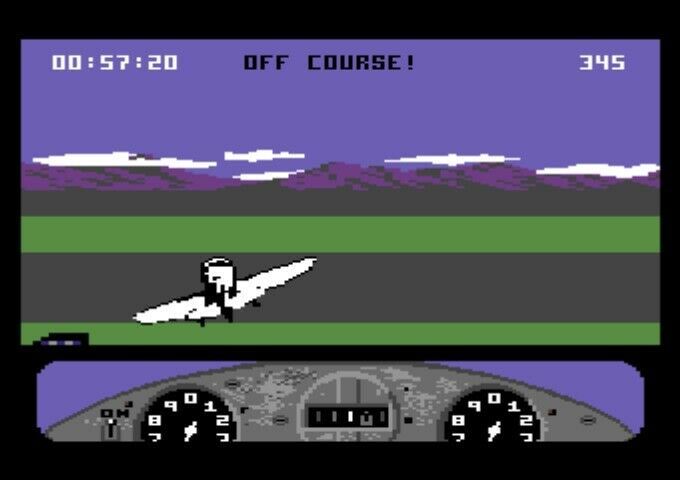GeeBee Air Rally [Disk], Commodore 64