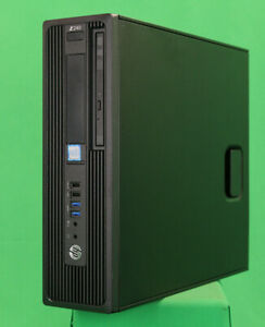 Details about HP Z240 SFF Xeon E3-1240v5 @ 3 5 GHz 16 GB DDR4 240 GB SSD 2  TB HDD Win10 Pro