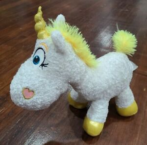 "New Disney Store Toy Story Buttercup Unicorn Plush 9/"" L Bean Bag Toy"