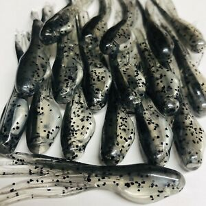 """2"""" MINNOW CRAPPIE TUBE JIG SKIRTS 20 Pack Tennessee Shiner"""