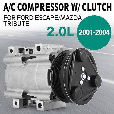 A//C Compressor for 1995-2004 Ford Escape Mazda Tribute Mercury Cougar 2.0L 57144