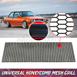 120x40cm Universal ABS Plastic Racing Car Bumper Honeycomb Mesh Grill Vent Auto