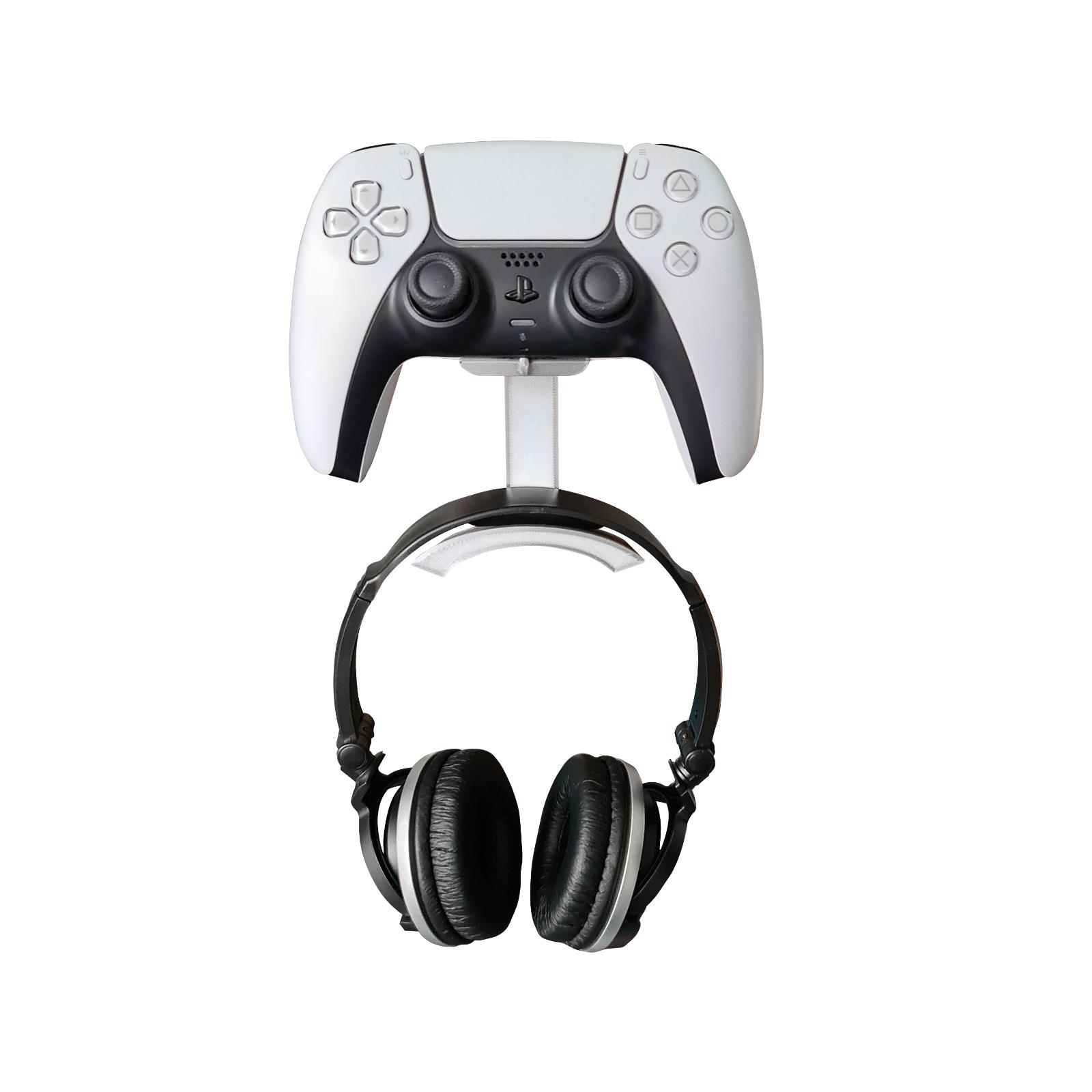 Playstation 5 Headphones & Controller Wall Mount