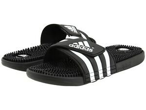 9429b28bf11cac Men adidas Adissage Slides Sandal 078260 Black  Black  Running White ...