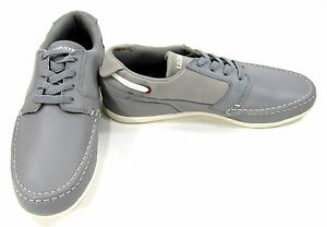 3a38caf9b53d Image is loading LaCoste-Shoes-Dreyfus-Cre-SPM-Leather-Gray-Sneakers-