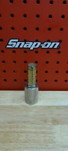 "NEW Snap-on Tools USA 1//2/"" Drive 17mm Metric Hex Bit Chrome Socket SAM17E"