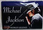 MICHAEL JACKSON 20th WORLD LEGEND plaque métal sérigraphie 21x15 cm NEUF
