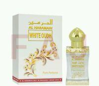 White Oudh By Al Haramain 12ml Oil Based Perfume - Oud Attar , Usa Seller
