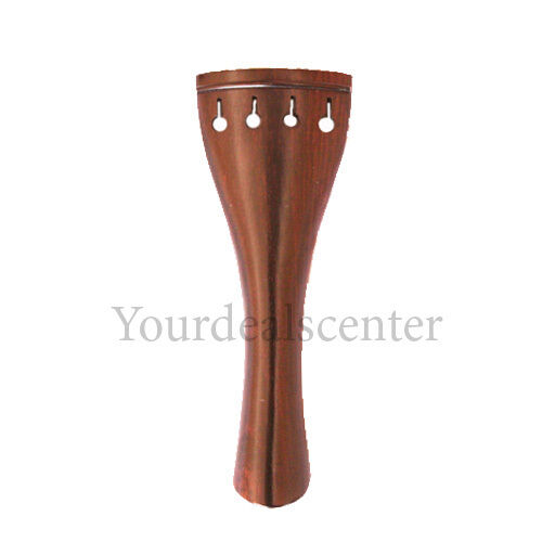 Rosewood Violin Tailpiece 4/4-----Round Style--Rosewood