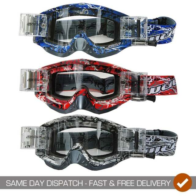 100 X RIP N ROLL TEAR OFFS FOR FOX MAIN ADULT GOGGLES FREE UK POSTAGE