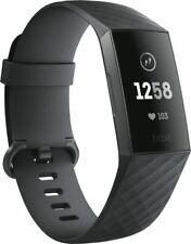 Artikelbild Fitbit Charge 3, schwarzes Armband Graphit-Grau Schrittzähler NEU&OVP