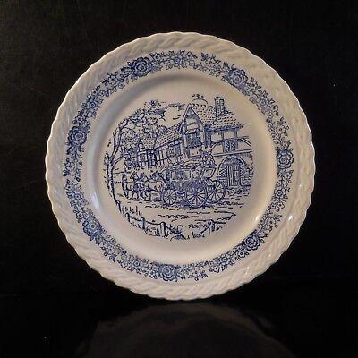 Assiette Miniature Céramique Faïence Buyhton Xixe Art Nouveau England N3424
