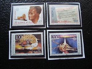 Jugoslawien-Briefmarke-Yvert-Und-Tellier-N-1983-1984-2033-2034-N-A22