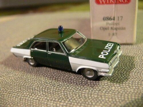 1//87 Wiking OPEL Capitano polizia 0864 17