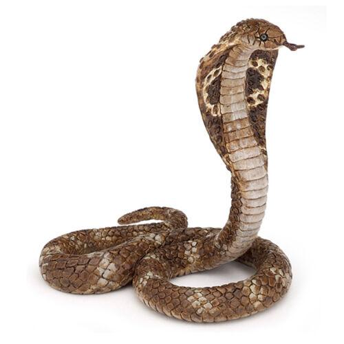 PAPO Wild Animal Kingdom King Cobra figure nouveau
