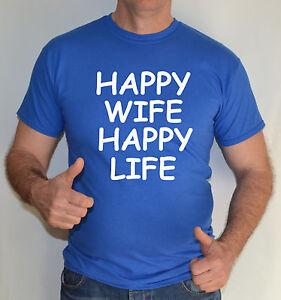 HAPPY-WIFE-HAPPY-LIFE-FUN-T-SHIRT