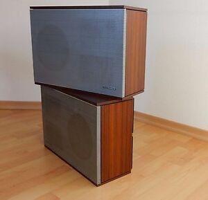 telefunken hifi klangbox l250 lautsprecher acusta vintage. Black Bedroom Furniture Sets. Home Design Ideas