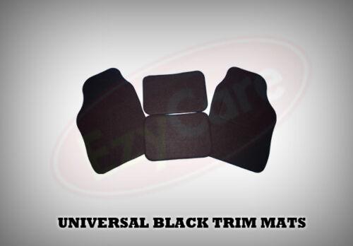 1969 on UNIVERSAL Car Floor Mats Black /& BLACK MORRIS MINOR