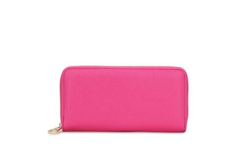 Women/'s Zip Around Purses Wallet Bag Ladies New Fashion Designer Purse