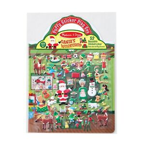 Melissa-and-Doug-Puffy-Stickers-Play-Set-Santa-039-s-Workshop-New-18585