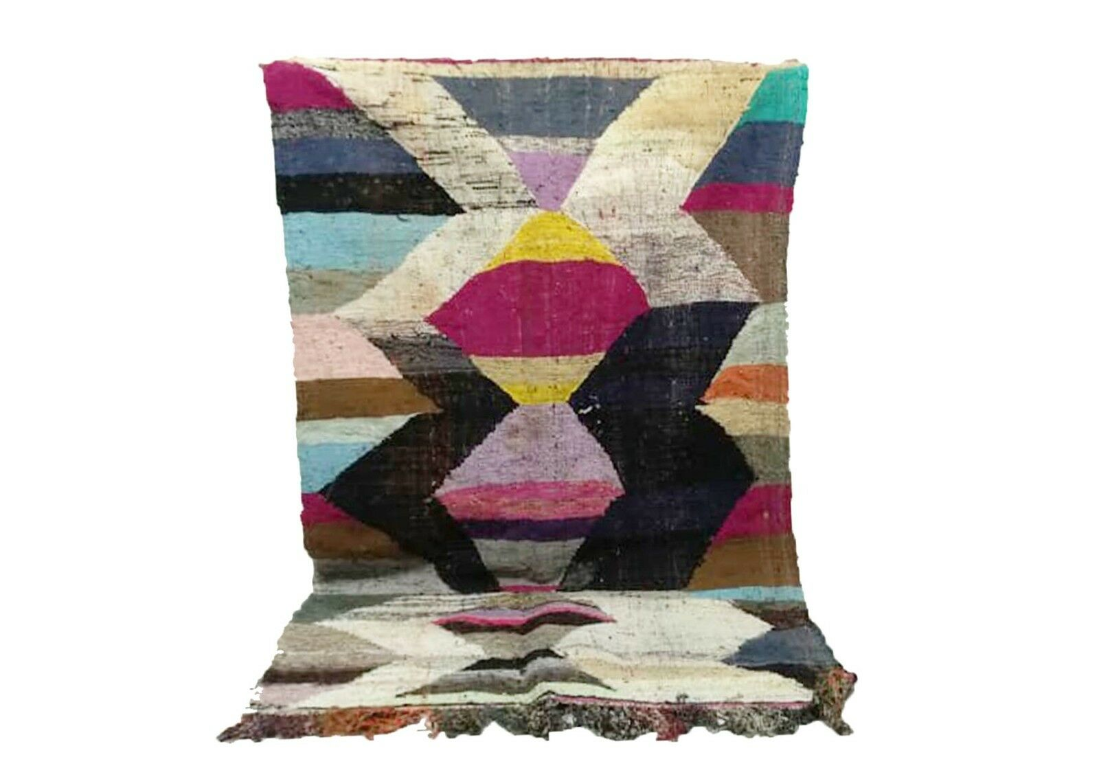 MGoldccan azilal azilal azilal berber boucherouite area rug, mGoldcco patchwork handmade carpet. 52ab68