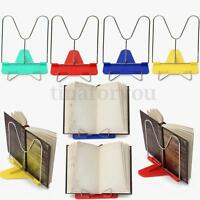 Adjustable Angle Foldable Portable Desk Reading Book Stand Document Pad Holder