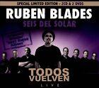Todos Vuelven: Live [Digipak] by Rubén Blades y Seis del Solar/Rubén Blades (CD, Nov-2012, 4 Discs, Ariel Rivas Music)