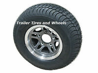 205/65-10 Lre Kl Bias Tire 10 5 Lug Gml Aluminum Trailer Wheel 20.5x8.0-10