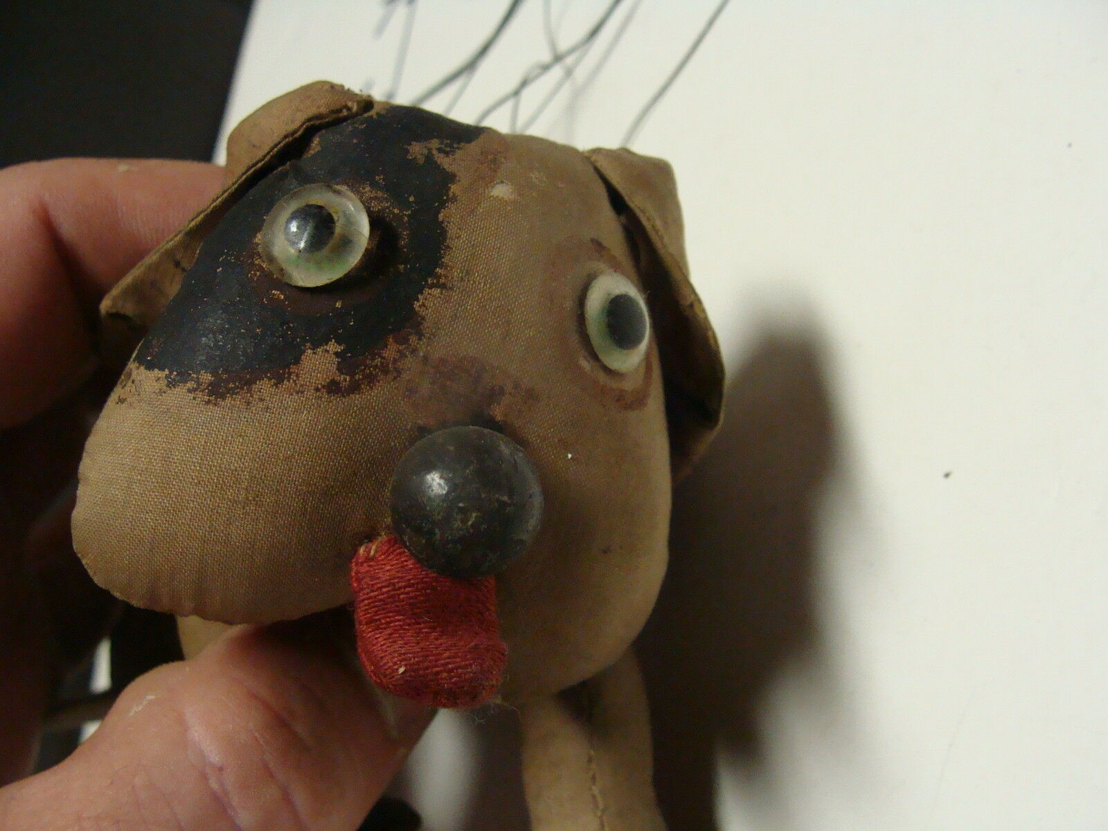 marionette vintage home made dog, so cute