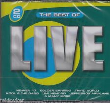 Best Of Live - Golden Earring, Jimi Hendrix, Heaven 17, u.a.   (2 CDs, NEU!)