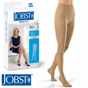 fad12eaaa8e Image is loading Jobst-Womens-UltraSheer-Pantyhose-15-20-mmhg-Compression-