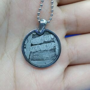 Meteorite-pendant-iron-seymchan-accessory-necklace-jewelry-round-amulet-mineral
