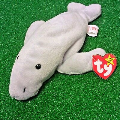 Ty Beanie Baby Babies MANNY the MANATEE MWMT