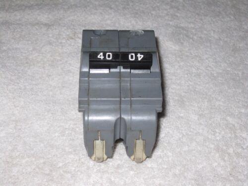 U B INC BRAND FPE 40 AMP 2 POLE UBIF-240N NA240