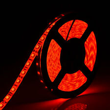 Waterproof Red 5050 SMD 5M 300 LED Flexible LED Strip Lights Party Lamp DC 12V