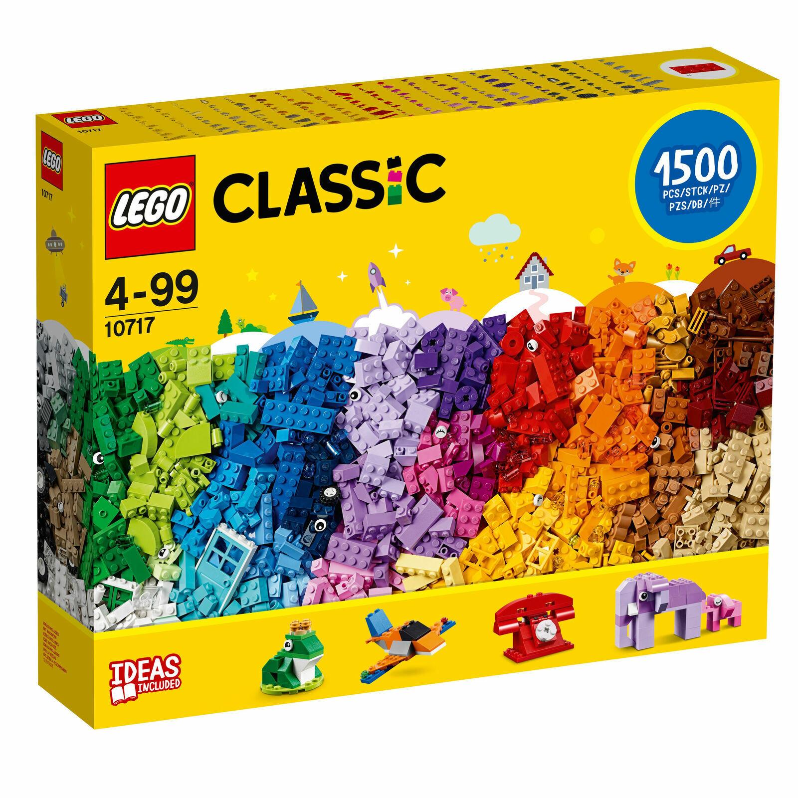 Ladrillos Lego Classic 10717 ladrillos ladrillos 1500 piezas de este conjunto