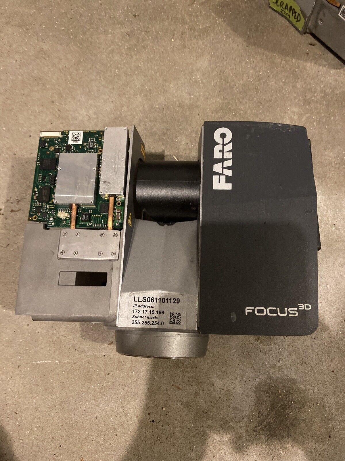 2011 Model Faro Laser Scanner Focus 3D S120 FOR PARTS OR REPAIR!