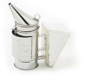 Premium-Beekeeping-Smoker-European-Made-Stainless-Steel-with-Heat-Shield-Beehive