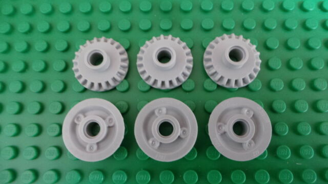 Lego Technic Tan Bevel Gear 20 Tooth  x  6  p//n 32198  z20  ****NEW****