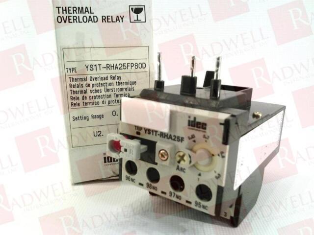 Idec YS1T-RHA25F7P0D Thermal Overload Relay New