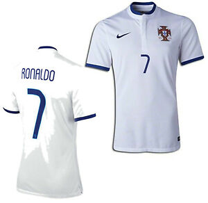 brand new cab6a f9543 Details about NIKE CRISTIANO RONALDO PORTUGAL AUTHENTIC AWAY JERSEY FIFA  WORLD CUP 2014.
