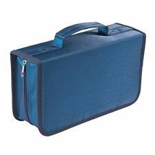 128 Capacity Cd/dvd Case Wallet Storage Holder Booklet by Rekukosblue