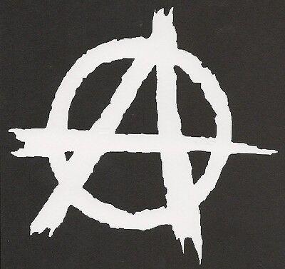 Anarchy Gun Logo Symbol Vinyl Decal Sticker Anarchist Chaos A Car Window Tumbler