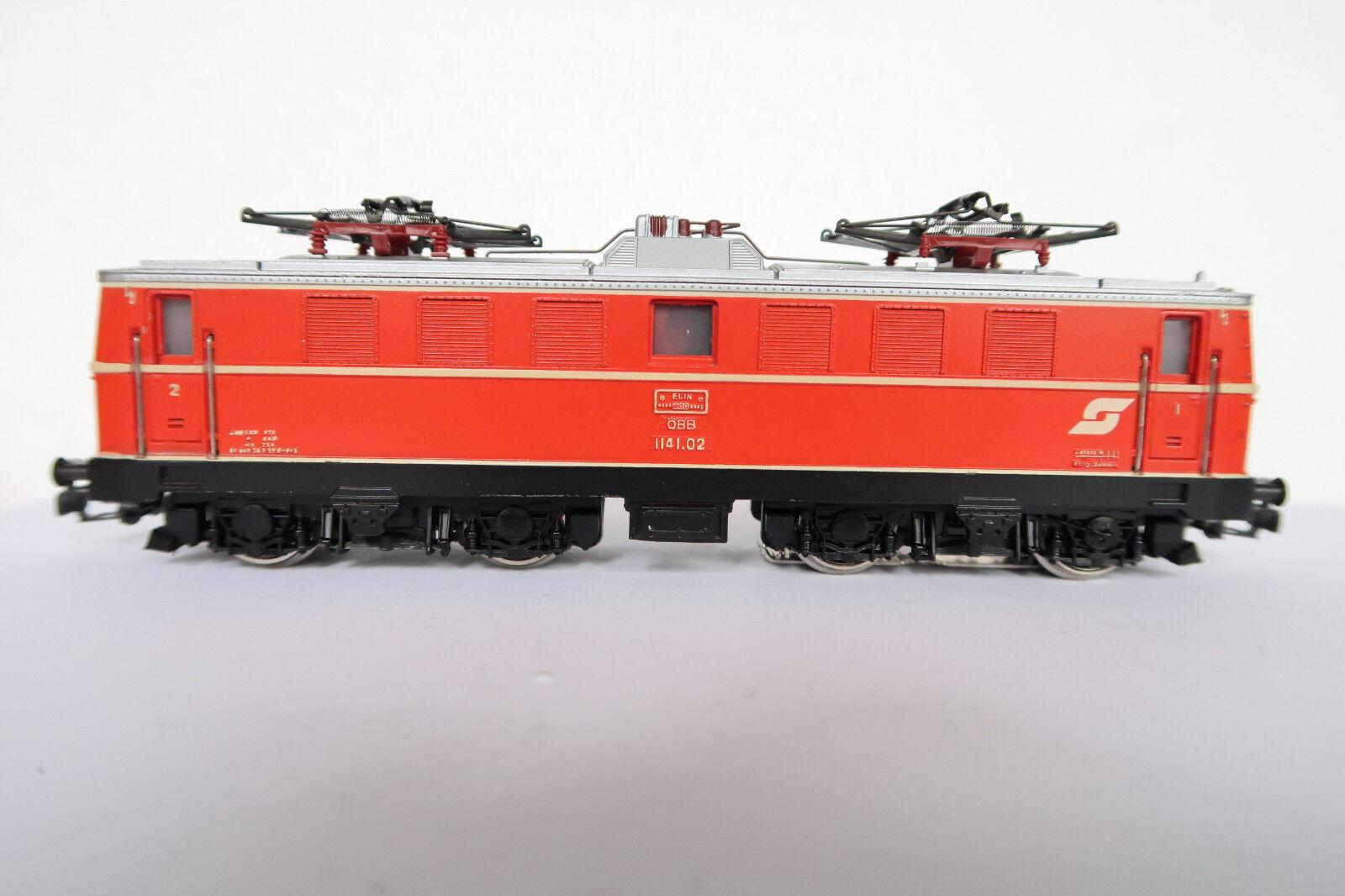 Märklin primex ho ac 3007 e-Lok btrnr 1141.02 ÖBB rossoarancia (co 298-79r7 14)