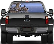 Wild Geese on a Lake Version 2 Rear Window Graphic Decal Truck SUV