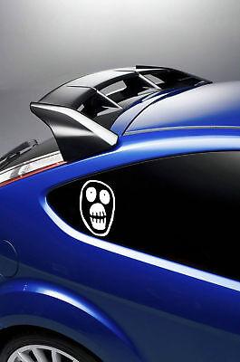 2X MIGHTY BOOSH FACE LOGO car stickers//decals  window