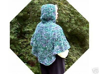 Hug Me Colinette Prism Poncho  Knit Yarn PATTERN