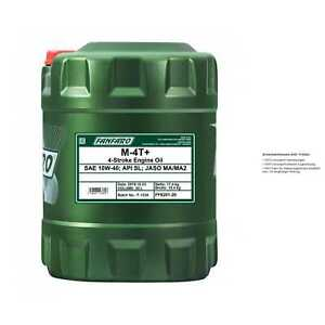 20-LITRI-fanfaro-m-4t-motorradol-olio-motore-API-SL-JASO-ma-ma2