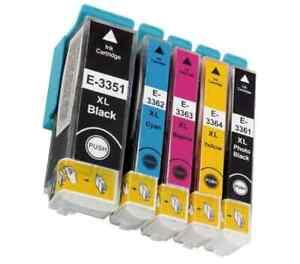 05-Cartouches-compatibe-epson-33XL-T3351-T3361-XP-540-XP-640-XP-530