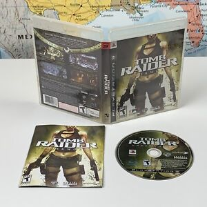 SHIPS SAME DAY Tomb Raider Underworld PlayStation 3, 2008 PS3 Complete Tested